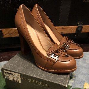 Camel Via Spiga heels